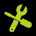 ikona prekrížené nástroje