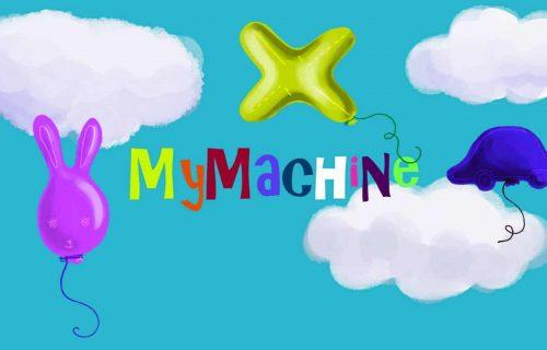 MyMachine minihry úvodná obrazovka